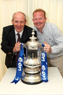 Steve Coppell and the FA Cup!