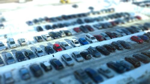 Carpark-tiltshift